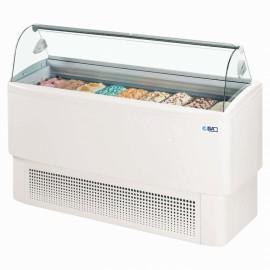 ISA Fiji 9 9 Pan Ice Cream Display Freezer