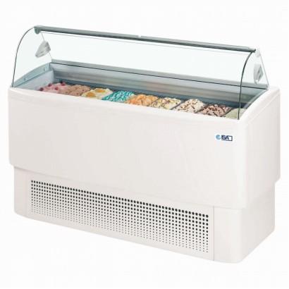 ISA Fiji 7 7 Pan Ice Cream Display Freezer