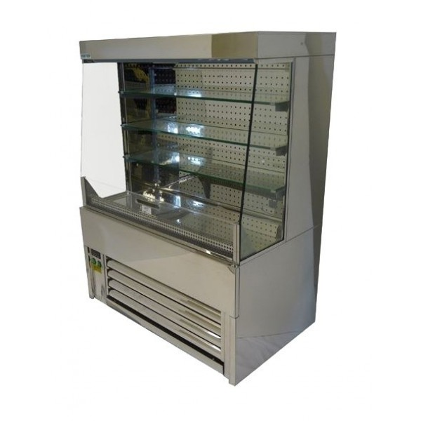 Frost Tech SLD60-60 0.6m Stainless Steel Low Height Multideck