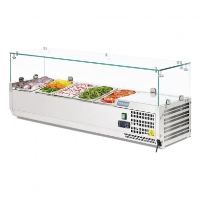 Polar G608 Countertop Prep Fridge