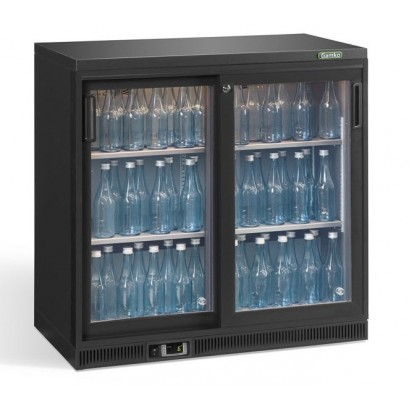Gamko MG2-250SD 0.9m Wide Double Sliding Door Bottle Cooler