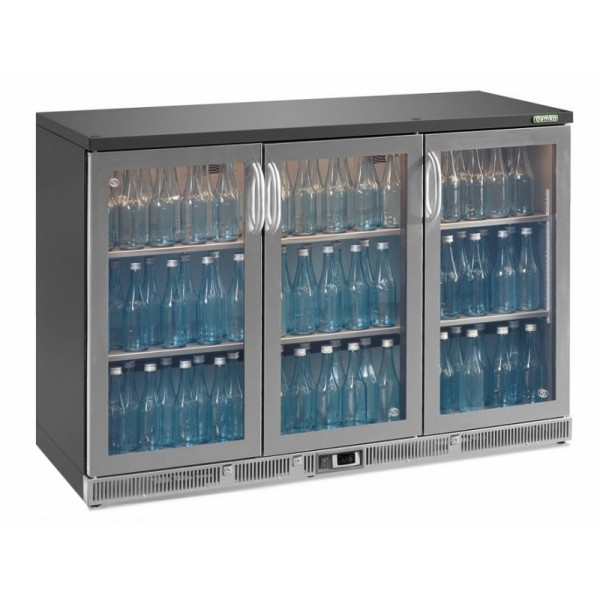 Gamko MG2-315GCS Triple Door Stainless Steel Bottle Cooler