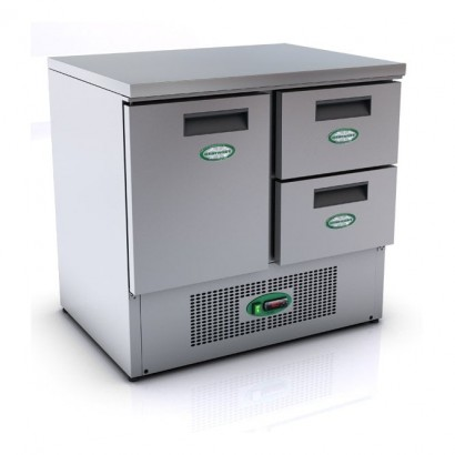 Genfrost G901/2D 2 Drawer 1 Door Fridge Counter