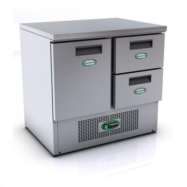 Genfrost G901/2D 2 Drawer 1 Door Fridge Counter