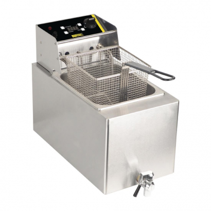 Buffalo GH124 Single Fryer with Tap