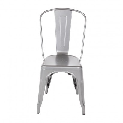 Bolero Bistro Steel Side Chair (Pack of 4)