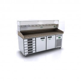 Genfrost GPZ3600DR Pizza Prep Counter