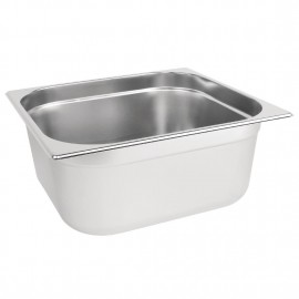 Vogue Stainless Steel 2/3 Two Third Size 150mm Deep Gastonorm Pan