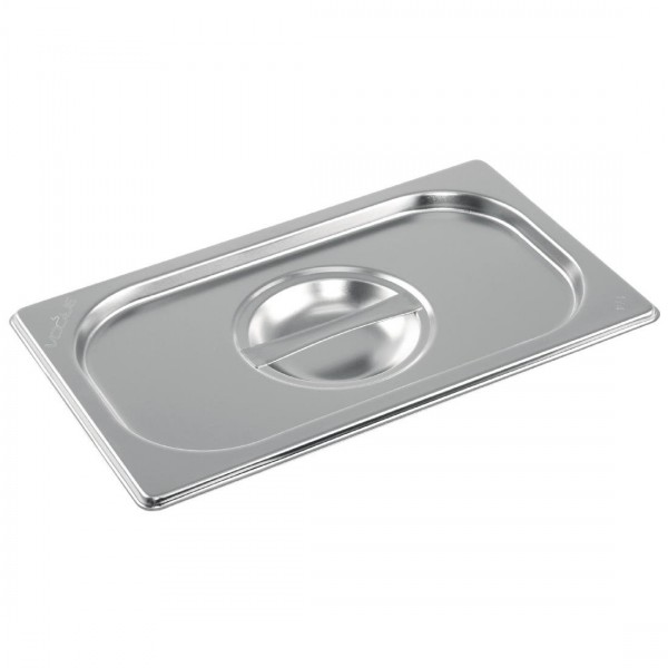 Vogue Stainless Steel 1/4 Gastronorm Pan Lid