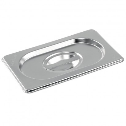 Vogue Stainless Steel 1/9 Gastronorm Pan Lid