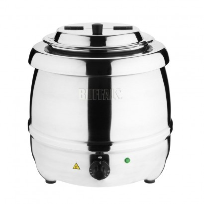 Buffalo L714 10 Litre Stainless Steel Soup Kettle