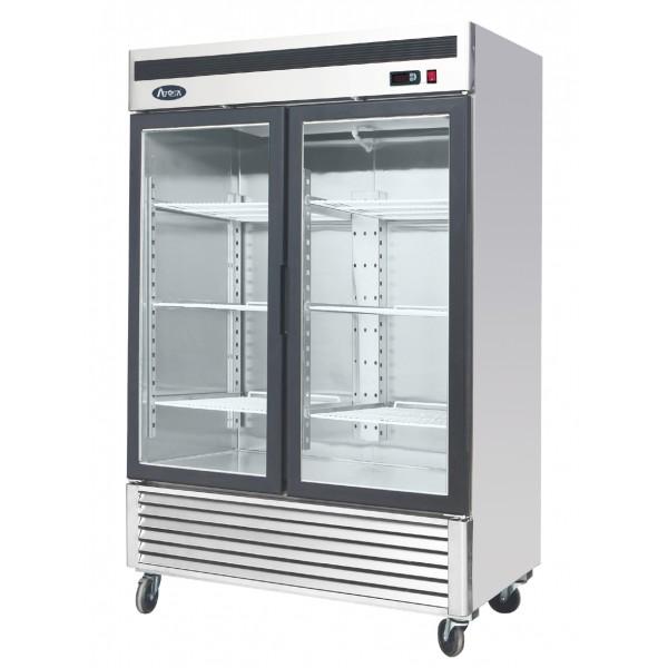 Atosa MCF8703 Double Glass Door Display Freezer