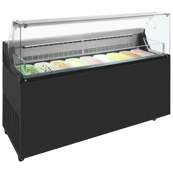 Framec Mirabella 9 Pan Ice Cream Display Freezer