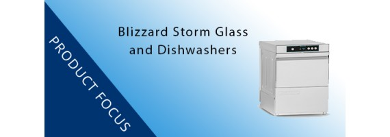 NEW PRODUCT: BLizzard Introduces Storm Range Glass and Dishwashers