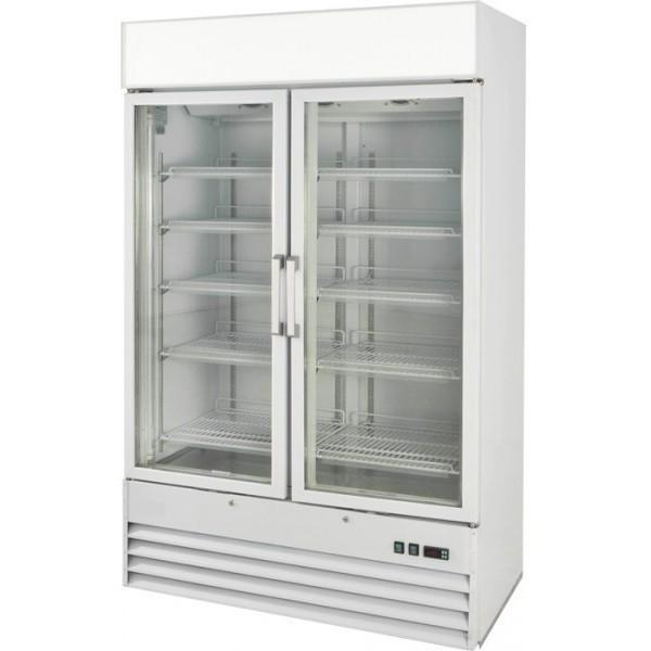 Prodis XD2PW White Heavy Duty Glass Door Display Fridge