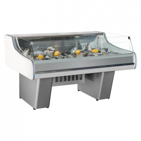 Trimco Provence 191 1.9m Low Glass Serve Over Counter