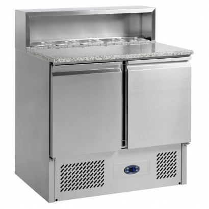 Tefcold PT920B 2 Door Pizza Preparation Counter