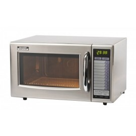 Sharp R21AT 1000W Commercial Microwave Oven