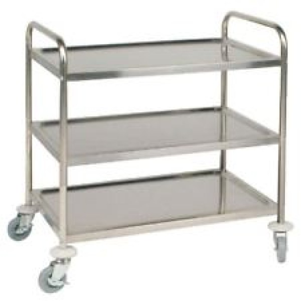 Vogue CC365 Deep Tray Clearing Trolley