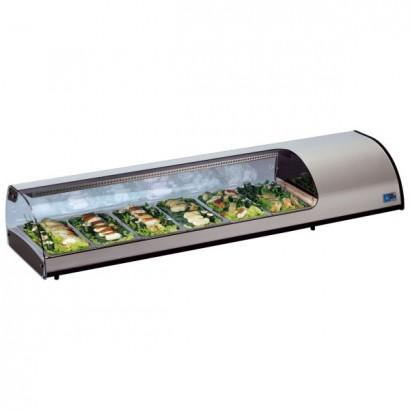 Tecfrigo Sushi 6 Counter Top Display Fridge