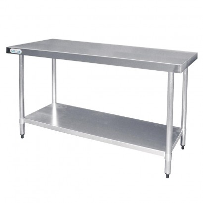 Vogue T376 Stainless Steel W1200 x D600mm Table