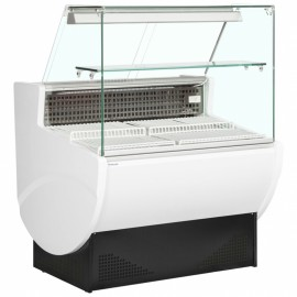 Trimco Tavira II 100F 1m Slimline Flat Glass Serve Over Counter