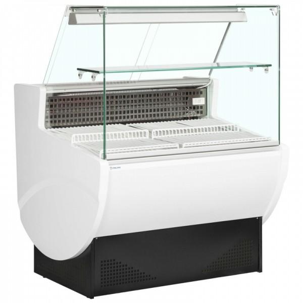 Trimco Tavira II 100F 1m Slimline Flat Glass Serve Over Counter