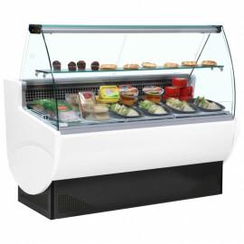 Frilixa Vista II 10 1m Curved Glass Serve Over Counter