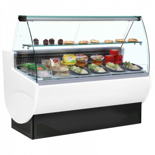 Frilixa Vista II 10 1m Curved Glass Serve Over Counter