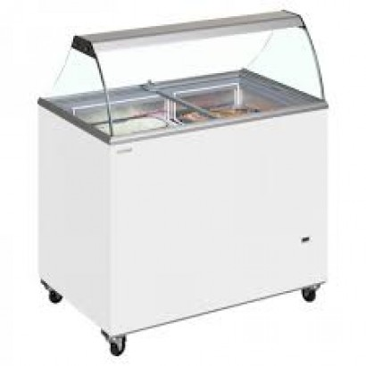 Tefcold IC500SC 12 Pan Ice Cream Display