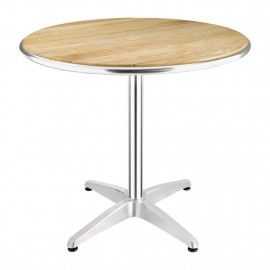 Bolero U429 Ash Top Round Table 800mm