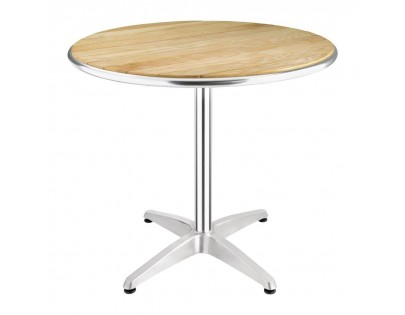 Bolero U429 Ash Top Round Table 800mm