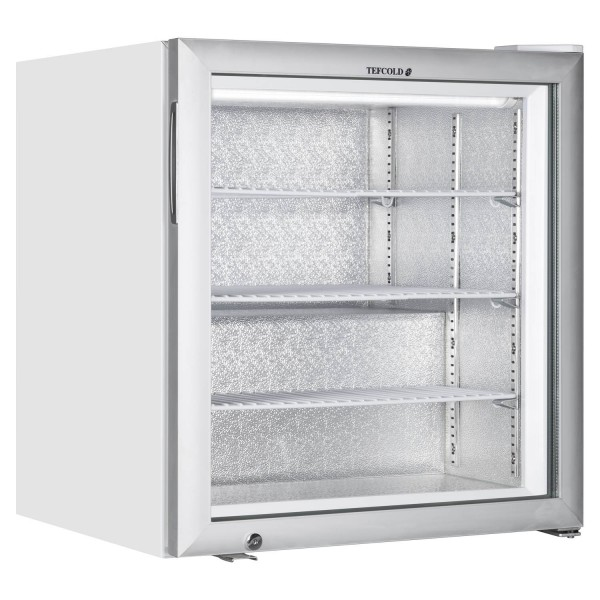 Tefcold UF100G 90 Litre Counter Top Display Freezer