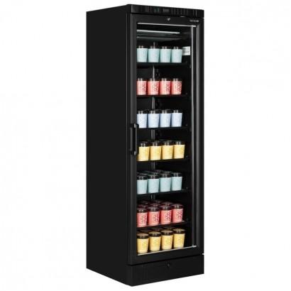 Tefcold UFSC370G Black Single Door Display Freezer
