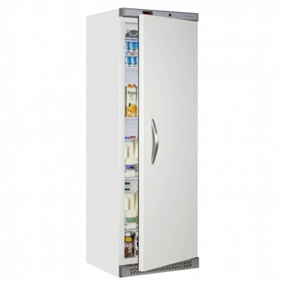 Tefcold UR400 Solid Door Storage Chiller White