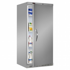 Tefcold UR550SB Single Door Upright Chiller Stainless Steel