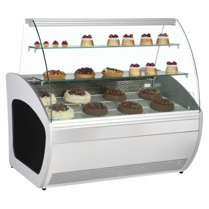 Alpine Vienna 90R 0.9m Open Deck Display Fridge