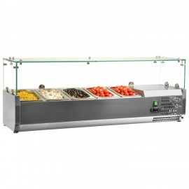 Interlevin VRX1200/330 Gastronorm Topping Shelf