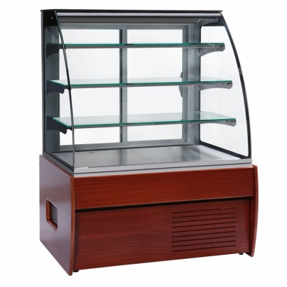Trimco Zurich 100W 1.0m Pastry Display Fridge in Wood