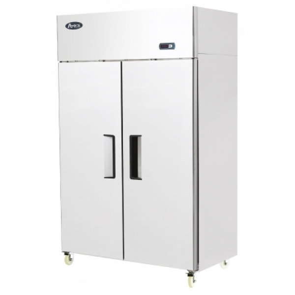 Atosa YBF9218 Double Door Upright Stainless Steel Fridge