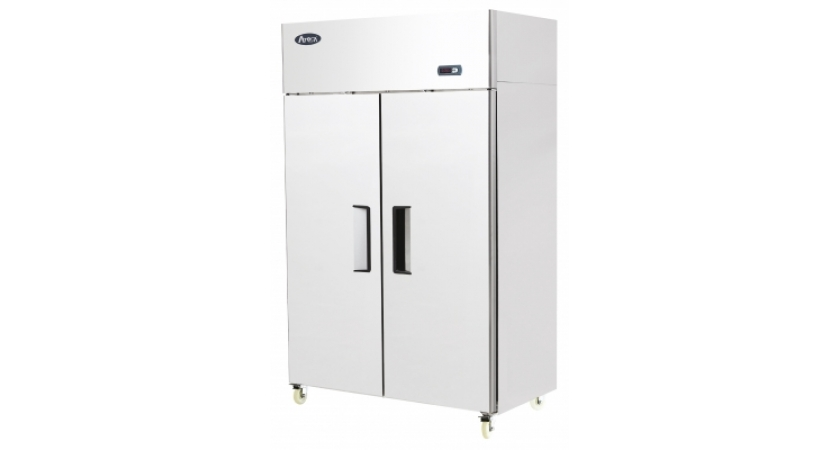 Atosa YBF9219 Double Door Upright Stainless Steel Freezer