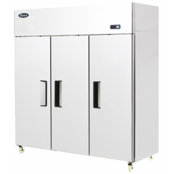 Atosa YBF9237 Triple Door Upright Stainless Steel Fridge