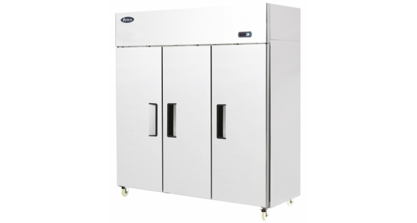 Atosa YBF9242 Triple Door Upright Stainless Steel Freezer