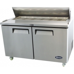 Atosa MSF8302 Two Door Prep Table Fridge