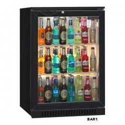 Blizzard LOWBAR1 Single Door Low Height Bottle Cooler