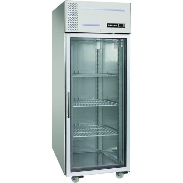 Blizzard LB1SSCR Glass Door Storage Freezer