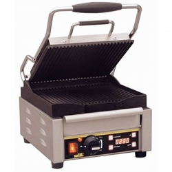 Buffalo L501 Ribbed Single Contact Grill