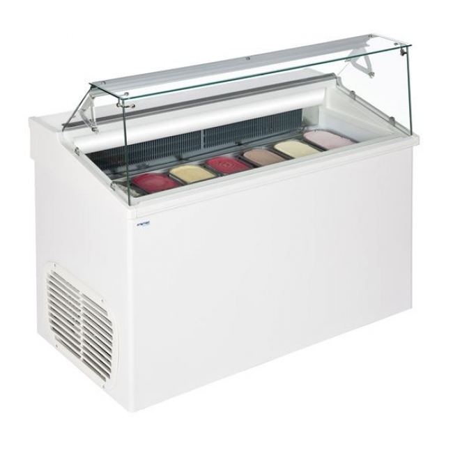 Framec Top6e 6 Pan Soft Scoop Ice Cream Display Freezer