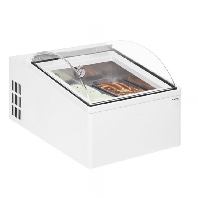Framec Ice 2v Counter Top Ice Cream Scoop Display Freezer