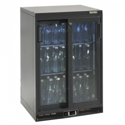 Gamko MG2-150SD 0.6m Wide Double Sliding Door Bottle Cooler